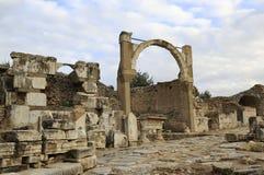 Ephesus, die Türkei Stockfotos