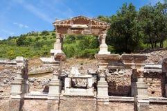 ephesus fontanny trajan indyk Zdjęcia Stock