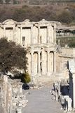 Ephesus forntida stad Main Street Royaltyfri Fotografi
