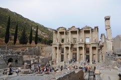Ephesus, giardino Mediterraneo Fotografia Stock Libera da Diritti