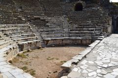 The Ancient City of Ephesus royalty free stock photos