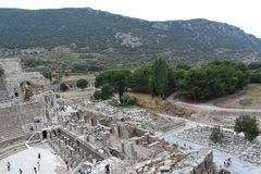 The Ancient City of Ephesus stock photography