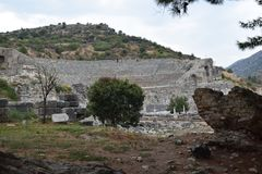The Ancient City of Ephesus royalty free stock photo