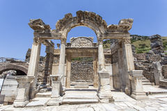 Ephesus Hadrian Ruin Royalty Free Stock Photography