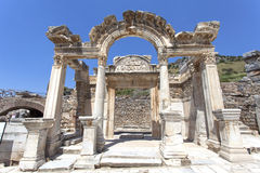Ephesus Hadrian Temple Ruin Stock Photography