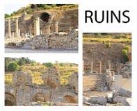 Ephesus: Historical Architecture Stock Image