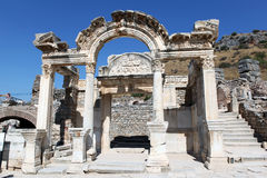 Ephesus historical remains Stock Photo
