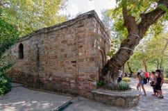 Ephesus, Izmır, Турци-август 19,2018: Дом девственницы mar стоковые фотографии rf