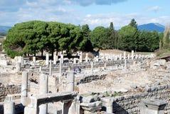 Ephesus Izmir, Turkiet, Mellanösten Arkivfoto