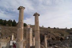 Ephesus kolonner Arkivbild