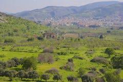 Ephesus in Kusadasi area, Turkey Royalty Free Stock Images