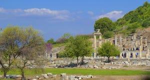 Ephesus in Kusadasi area, Turkey Stock Images