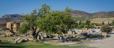 Ephesus Landscape Royalty Free Stock Images