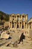 Ephesus Library of Celsus Stock Photo