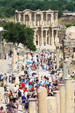 Ephesus and the Library of Celsus Stock Images