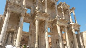 Ephesus library facade Stock Photography