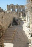 Ephesus Library & Ruins Royalty Free Stock Photo