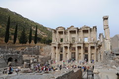 Ephesus, Mediterranean Garden Royalty Free Stock Photo