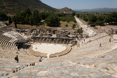 Ephesus. Аmphitheatre. Stock Images