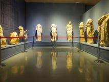 Ephesus museum exhibits. In Selcuk, Izmir, Turkey stock photography
