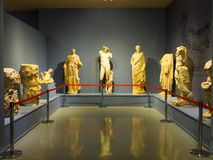 Ephesus museum exhibits. In Selcuk, Izmir, Turkey Stock Photo