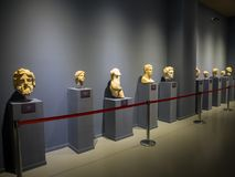 Ephesus museum exhibits. In Selcuk, Izmir, Turkey royalty free stock images
