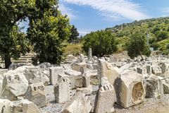 Ephesus museum in Turkey. Royalty Free Stock Photography