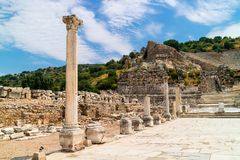 Ephesus museum in Turkey. Stock Photography