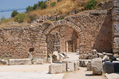 Ephesus, Old Gate. Old Building in ancient Ephesus, Turkye Royalty Free Stock Photography