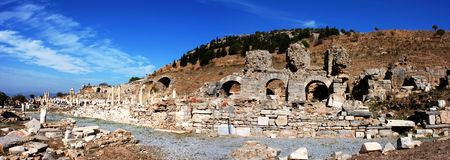 Ephesus Panorama Royalty Free Stock Image
