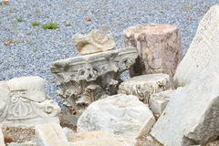 Ephesus relics Royalty Free Stock Photos