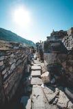 ephesus ruin obrazy royalty free
