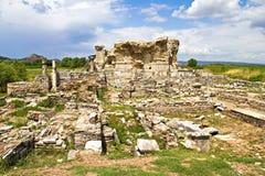 Ephesus Ruinen lizenzfreie stockbilder