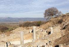 Ephesus Ruinen Lizenzfreie Stockfotos