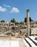 Ephesus ruins Stock Photos