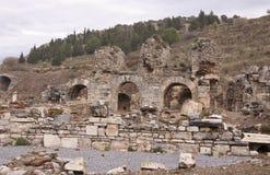 Ephesus. The ruins of ancient Greek city Ephesus in western Turkey Royalty Free Stock Images