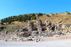 Ephesus ruins in Selcuk, Turkey Stock Photos