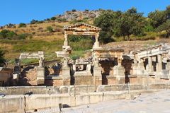 Ephesus ruins in Selcuk, Turkey Stock Images