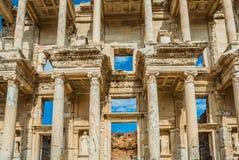 Ephesus ruins Turkey. Ephesus ancient greek ruins in Anatolia Turkey Stock Photos