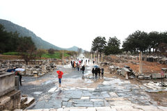 Ephesus ruins Turkey Royalty Free Stock Images