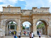 Ephesus - Selcuk, Ä°zmir Turkiet royaltyfria foton