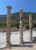 Ephesus-Spalten Stockfotos