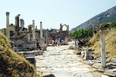 Ephesus street Royalty Free Stock Photo