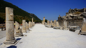 Ephesus street stock photography