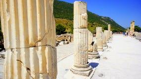 Ephesus street royalty free stock image