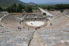 Ephesus teater Arkivbild