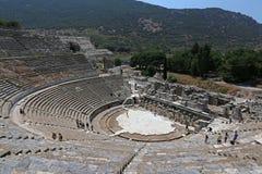 Ephesus teatersikt Royaltyfria Bilder
