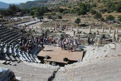 Ephesus theatre Stock Image