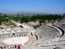 Ephesus Theatre stock photography