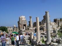 ephesus tourist Royalty Free Stock Photos
